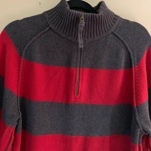 American eagle half zip turtleneck sweater XL/TG